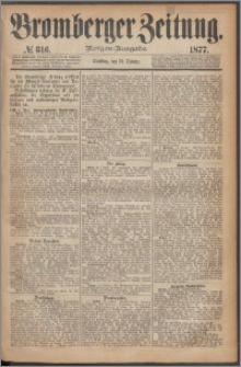 Bromberger Zeitung, 1877, nr 316