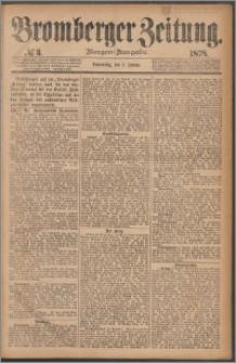 Bromberger Zeitung, 1878, nr 3