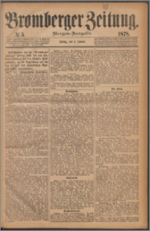Bromberger Zeitung, 1878, nr 5