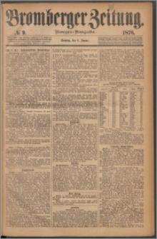 Bromberger Zeitung, 1878, nr 9