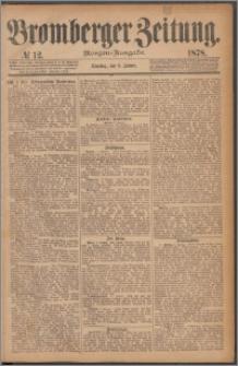Bromberger Zeitung, 1878, nr 12