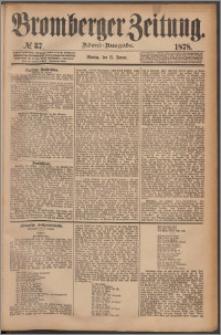 Bromberger Zeitung, 1878, nr 37