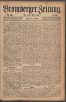 Bromberger Zeitung, 1878, nr 49