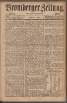 Bromberger Zeitung, 1878, nr 61