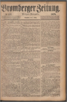 Bromberger Zeitung, 1878, nr 111