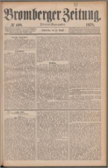 Bromberger Zeitung, 1878, nr 408