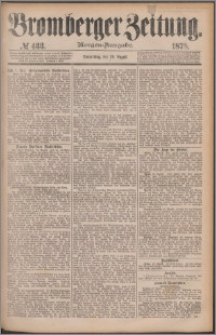 Bromberger Zeitung, 1878, nr 433