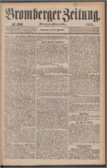 Bromberger Zeitung, 1878, nr 489