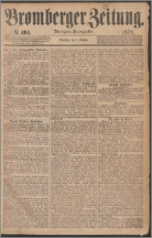 Bromberger Zeitung, 1878, nr 494