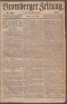 Bromberger Zeitung, 1878, nr 497