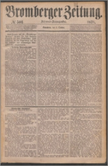 Bromberger Zeitung, 1878, nr 503