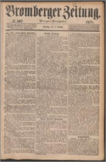 Bromberger Zeitung, 1878, nr 507