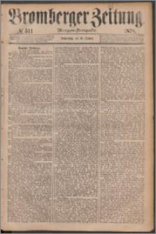 Bromberger Zeitung, 1878, nr 511