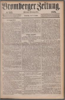 Bromberger Zeitung, 1878, nr 525