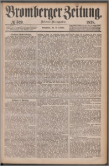 Bromberger Zeitung, 1878, nr 529