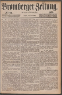 Bromberger Zeitung, 1878, nr 533
