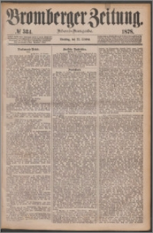 Bromberger Zeitung, 1878, nr 534