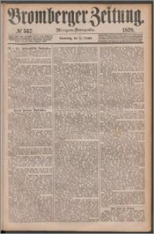 Bromberger Zeitung, 1878, nr 537