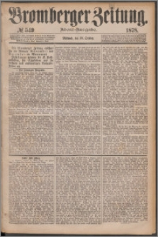 Bromberger Zeitung, 1878, nr 549