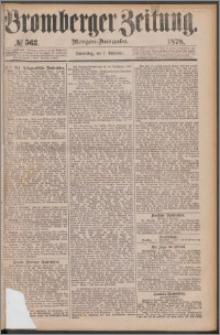 Bromberger Zeitung, 1878, nr 563