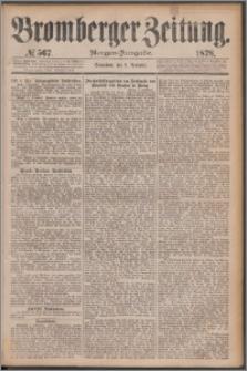 Bromberger Zeitung, 1878, nr 567