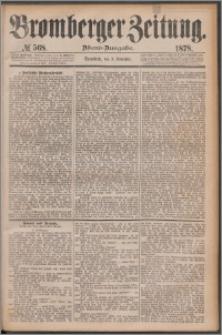 Bromberger Zeitung, 1878, nr 568