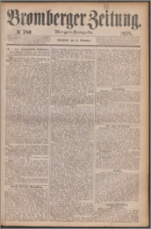 Bromberger Zeitung, 1878, nr 580