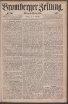 Bromberger Zeitung, 1878, nr 582
