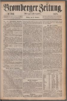 Bromberger Zeitung, 1878, nr 583
