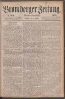 Bromberger Zeitung, 1878, nr 589