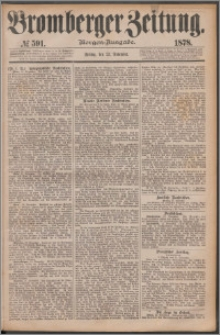 Bromberger Zeitung, 1878, nr 591