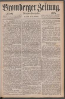 Bromberger Zeitung, 1878, nr 593