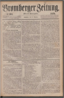 Bromberger Zeitung, 1878, nr 594