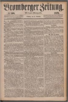 Bromberger Zeitung, 1878, nr 598