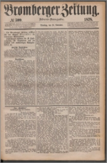 Bromberger Zeitung, 1878, nr 599