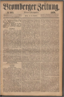 Bromberger Zeitung, 1878, nr 605