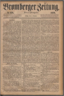 Bromberger Zeitung, 1878, nr 618