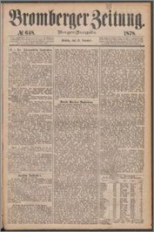Bromberger Zeitung, 1878, nr 648