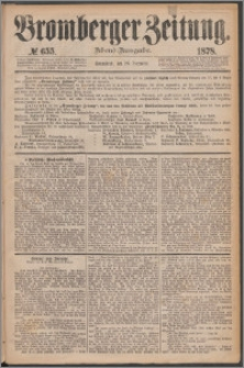 Bromberger Zeitung, 1878, nr 655