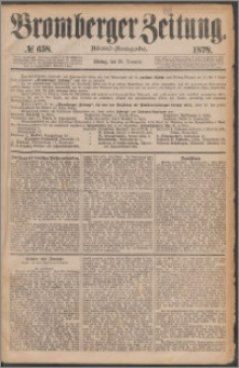 Bromberger Zeitung, 1878, nr 658