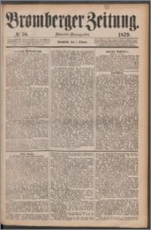 Bromberger Zeitung, 1879, nr 58