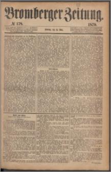 Bromberger Zeitung, 1879, nr 178