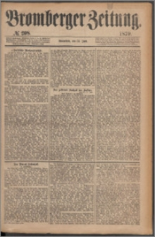 Bromberger Zeitung, 1879, nr 208