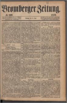 Bromberger Zeitung, 1879, nr 209