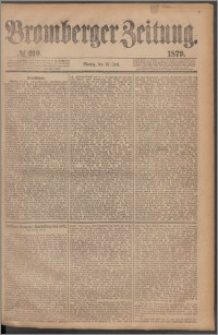 Bromberger Zeitung, 1879, nr 210