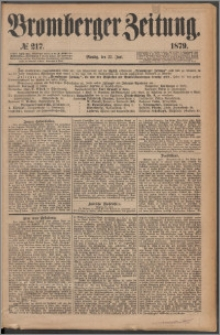 Bromberger Zeitung, 1879, nr 217
