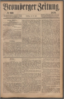 Bromberger Zeitung, 1879, nr 239