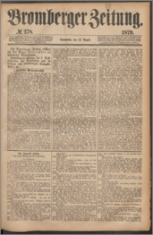 Bromberger Zeitung, 1879, nr 278