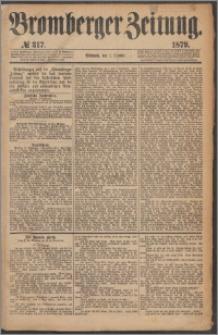 Bromberger Zeitung, 1879, nr 317