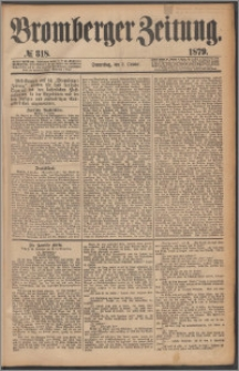 Bromberger Zeitung, 1879, nr 318